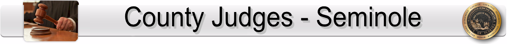 Seminole County Judges