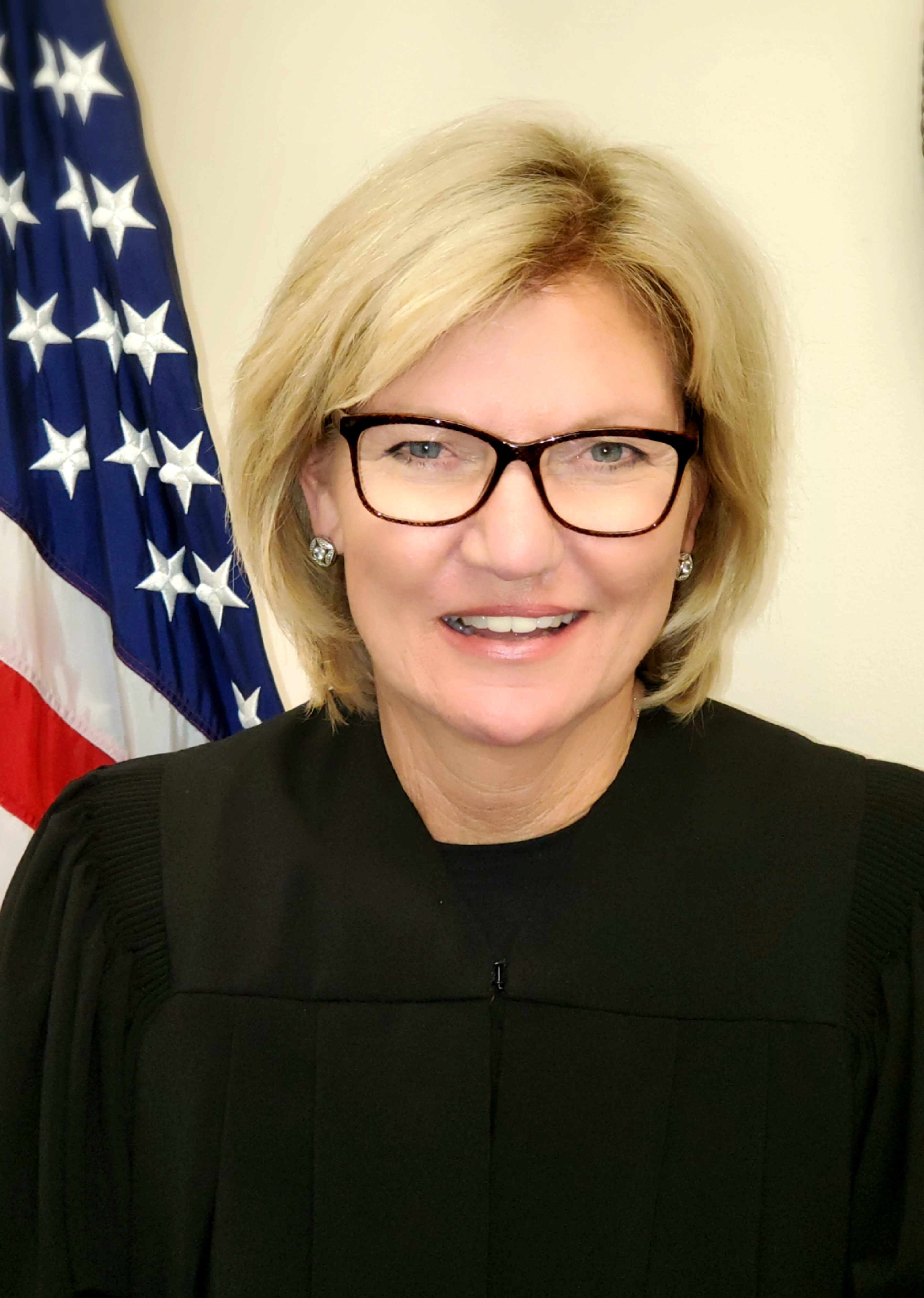 Click to enlarge picture of Circuit Judge Jennifer Taylor. Opens in new window.