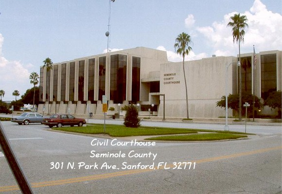 Picture of Sanford Civil Courthouse. Opens in new window.