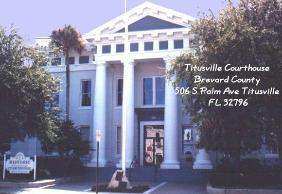 Photo of Titusville Courthouse. Opens in new window.