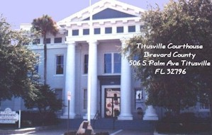 Titusville Courthouse Picture. Opens in new window.