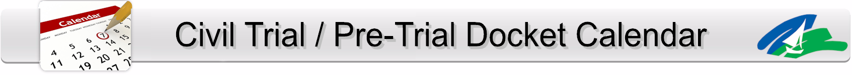 Trial Docket Page Banner