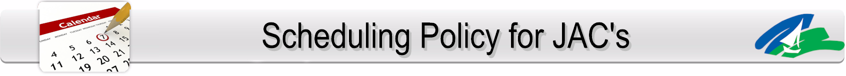 Scheduling Policy Page Banner