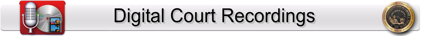 Digital Court Recording