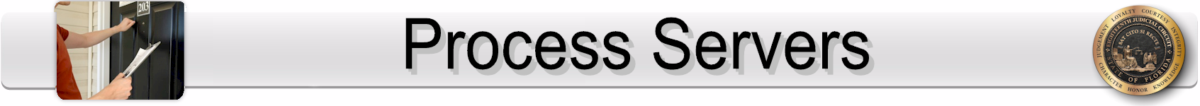 Process Servers Page Banner