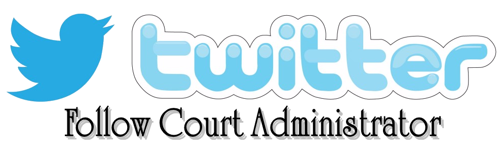 Court Administration Twitter Icon